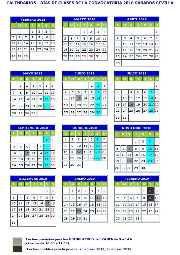 calendario-sabados-sevilla