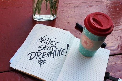 No dejes de soñar.